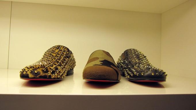 zapatos con pinchos