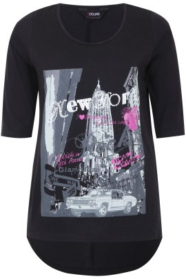 camiseta new york talla grande