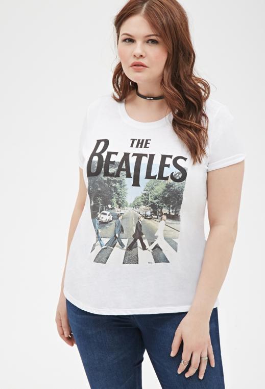 camiseta talla grande The Beatles