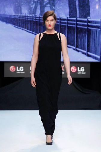 Couchel vestido negro