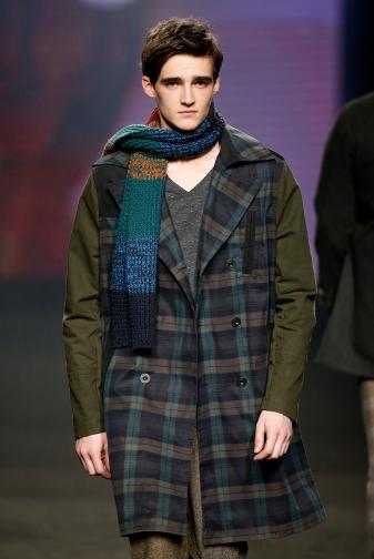 Desigual bufanda colores hombre