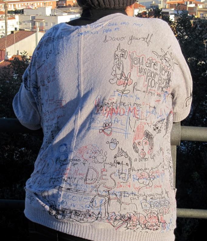 jersey Desigual pintado