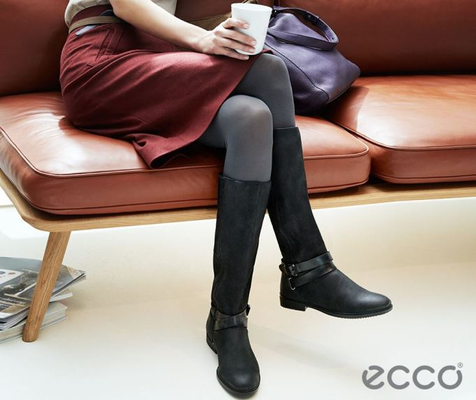 Ecco Shoes black boots