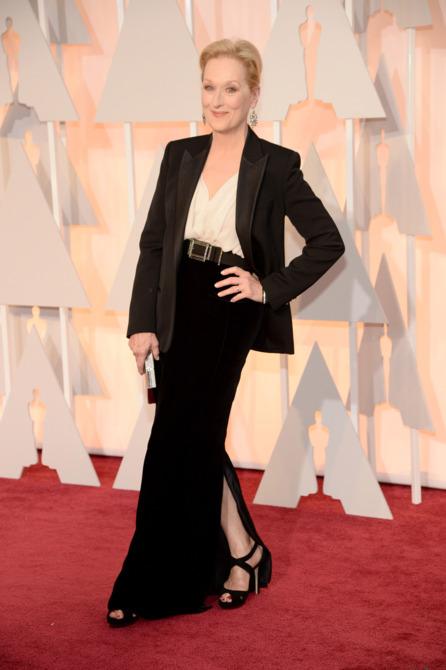 Meryl Streep en los oscar