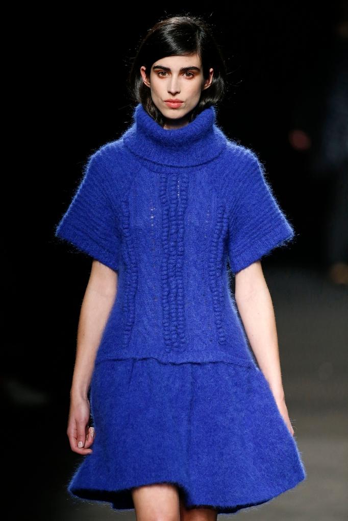 Sita Murt vestido punto azul