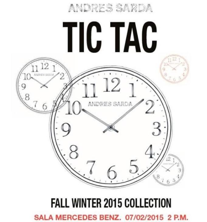 Tic Tac colección Andrés Sardá