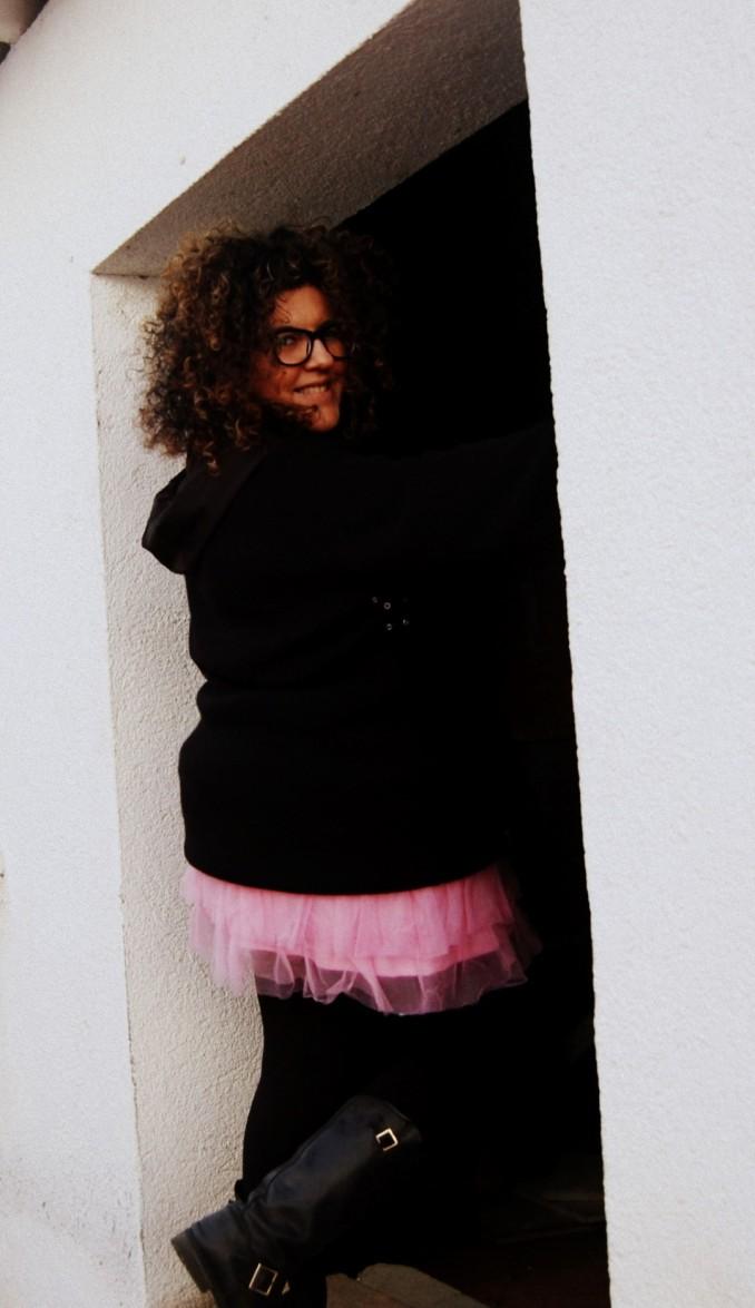 falda de tul de Boohoo