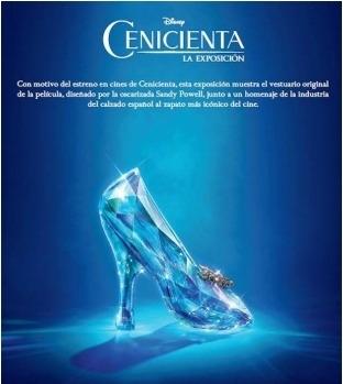 Exposición zapatos Cenicienta
