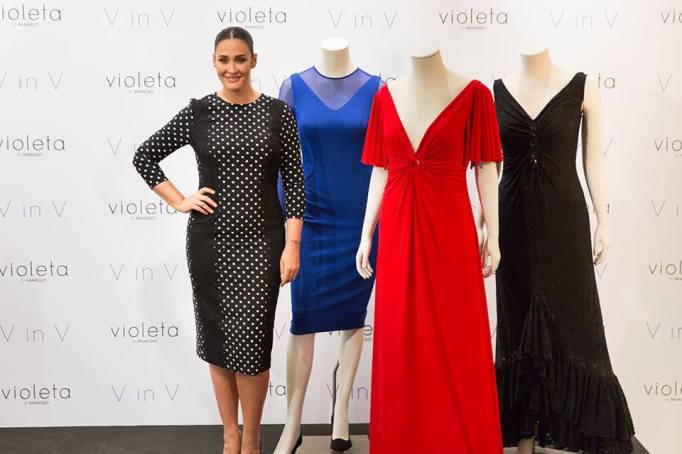 Violeta by Mango vestidos cocktail talla grande