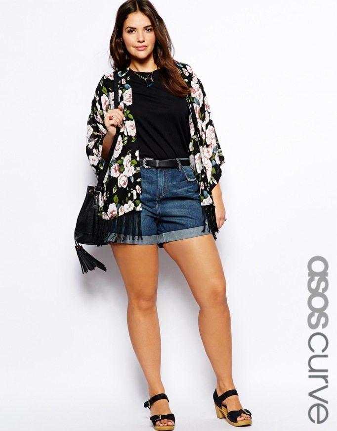 denim short Asos