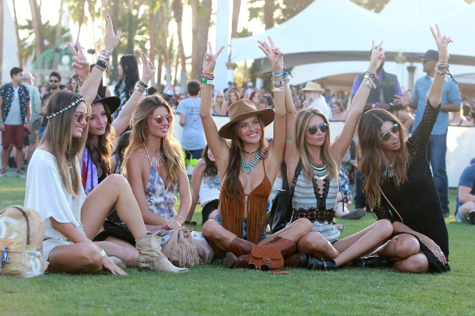 celebrities en coachella