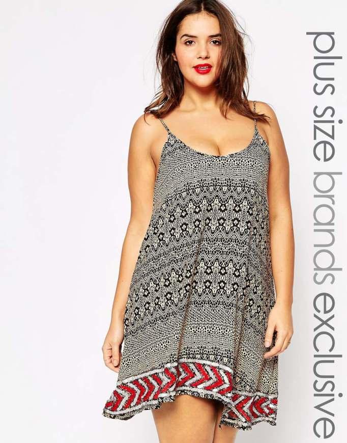 vestido azteca Asos
