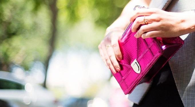 clutch rosa fucsia