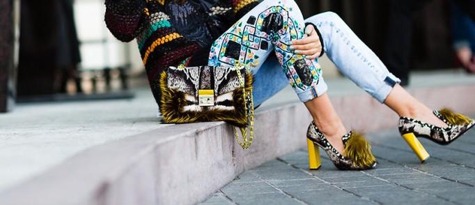furry shoes Fendi