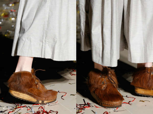 Furry shoes otoño invierno