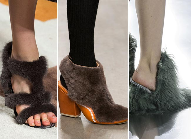 otoño invierno 2015 furry shoes