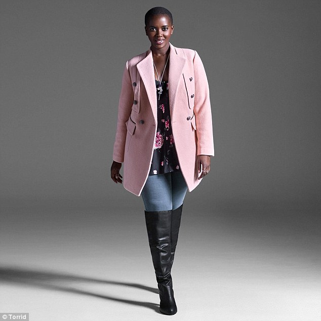 coat pink rebel Torrid