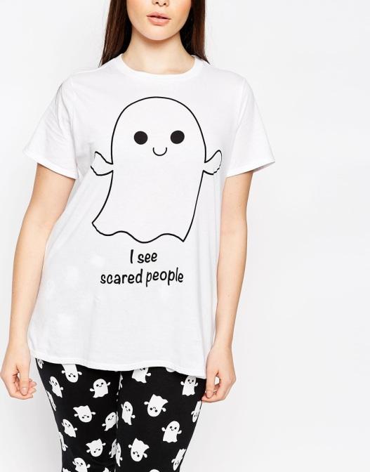 pijama de fantasma