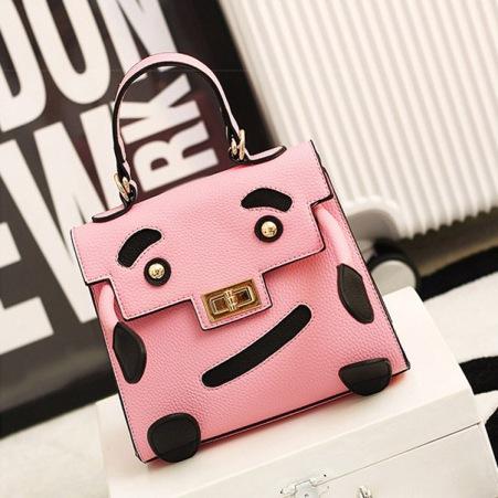 bolso rosa gracioso