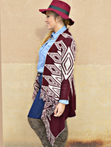 chaqueta indiga Miss Louli