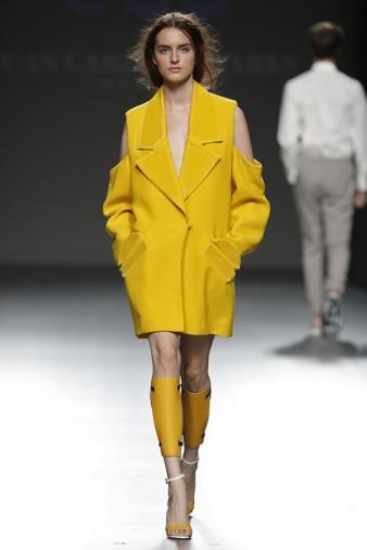 coat mustard